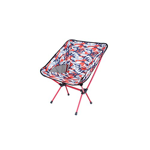 Fishing Chair Outdoor Camping Folding Chair Portable Aluminum Alloy Oxford Men and Women Picnic Grill Sketching Party Beach Courtyard Enjoy The Moon Cool Balcony Leisure Director Chair