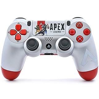 APEX PS4 PRO Rapid Fire Custom Modded Controller 40 Mods für alle großen Shooter Spiele und mehr, Custom Touchpad (CUH-ZCT2U)