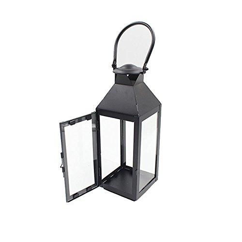 vientiane Kerzenhalter/Eisen-Laternen, Retro-Stil Indoor/Outdoor windundurchlässiges Kerze Licht...