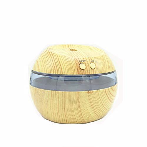 Wanlianer Holzmaserung Luftbefeuchter Home Office Ultraschall Zerstäuber USB Mini Luftbefeuchter Desktop Luftreiniger Gesicht feuchtigkeitsspendend (Farbe : A) - Rauch Luftreiniger Entfernen