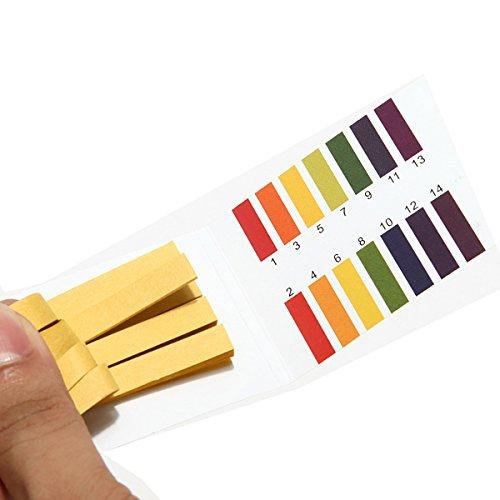 DaDago 1-14 Ph Alkaline Acid Test Paper Water Litmus Testing Kit Water Quality Tester