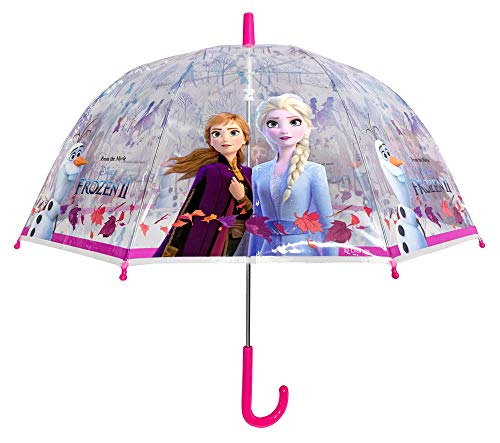 Paraguas Frozen II Transparente Manual