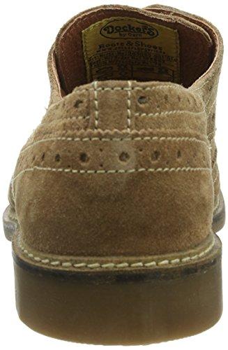 Dockers 345000-001014, Scarpe stringate uomo marrone (Braun (natur  014))