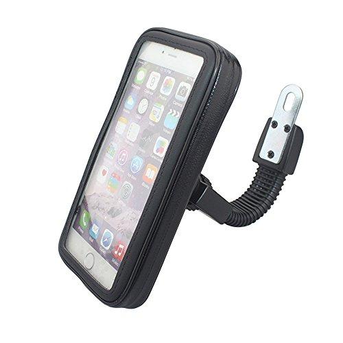 Universelle wasserdichte Motorradhalterung Fall Motorradständer Telefon-Halter-Rückspiegel Halterung für iPhone für Samsung Handy S4 S5 S6 S7 Hinweis 2 3 4 5 iPhone 4 5 6 6s 6 Plus LG HTC (XL) (Iphone Handy-fall)