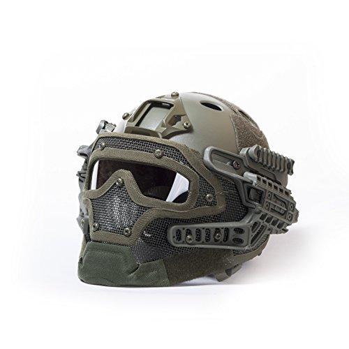 Militar-TLD Militar táctico de Airsoft Paintball Casco Protector Máscara Goggles G4 Helmet...