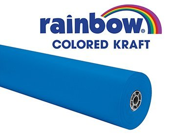 pacon-corporation-rainbow-kraft-roll-100ft-brite-blue-by-pacon