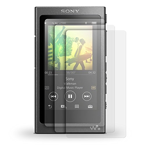 iGadgitz 3er Pack Displayschutzfolie für Sony Walkman NW-A35 NW-A40 MP3-Player + Screen Protector