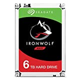 Seagate ST6000VN0033 IronWolf 6 TB interne NAS Festplatte (8,89 cm (3,5 Zoll) 128 MB Cache, 7200 RPM, Sata 6 Gb/s)