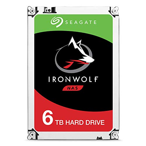 Seagate IronWolf - Disco duro interno 6