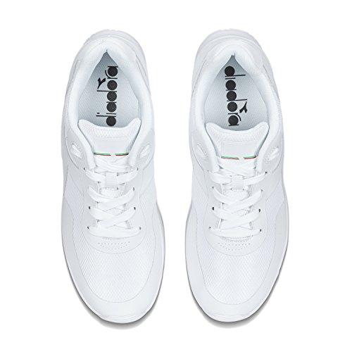 Diadora Evo Run, Chaussures de Running Compétition Homme 20006 - BLANC