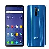 Smartphone Android 7.1 4G Elephone U Schermo 4G Sbloccato Curvo (Schermo: 5,99'Pollici - 6 GB RAM - Archiviazione Da 128 GB - Dual SIM) ID FACE E Rilevatore Di Impronte Digitali