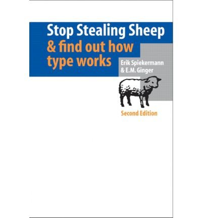 [(Stop Stealing Sheep and Find Out How Type Works )] [Author: Erik Spiekermann] [Dec-2003] Buch-Cover