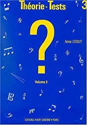 Théorie-tests Volume 3