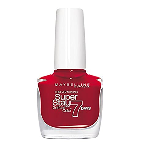 Maybelline Forever Strong SuperStay 7day Gel 06 Deep Red Nail Polish 10ml