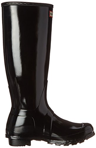 Hunter Original Gloss, Bottes Femme Noir (Black)