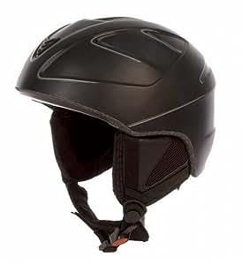 TecnoPro starfire de ski taille m = 54–58 cm, couleur :  900 noir/argent)
