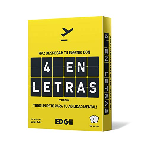 Edge Entertainment EEES4L01 - Juego de cartas 4 en Letras