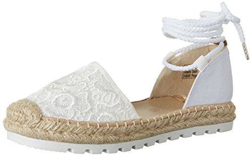 Tom Tailor Damen 2796903 Espadrilles, Weiß (White), 38 EU
