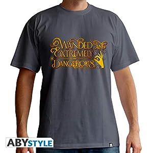 ABYstyle abystyleabytex380_ XXL fantástico bestias wanded y extremadamente peligroso camiseta para hombre (2x -Large)