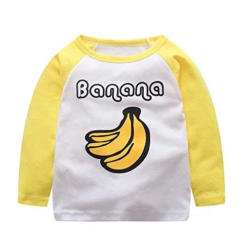 e32b622ca7e4d1 togel Kleinkind Baby Kinder Baby Jungen Mädchen Cartoon Brief Tops T-Shirt  Outfits.