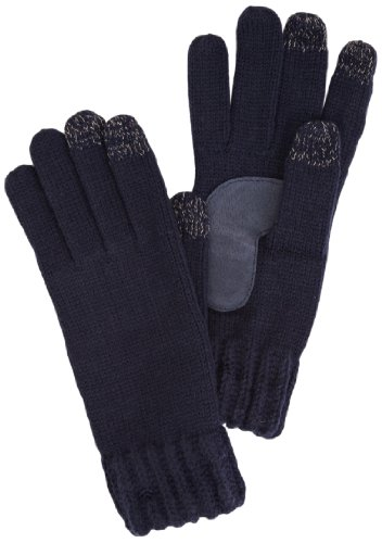isotoner-ladies-chunky-knit-3-finger-smartouch-guantes-para-mujer-color-blau-navy-talla-talla-unica
