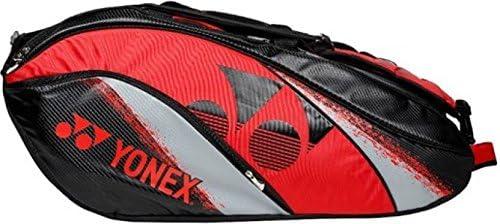 Yonex Badminton KitBag SUNR BA01TG BT6 (Black, Red)