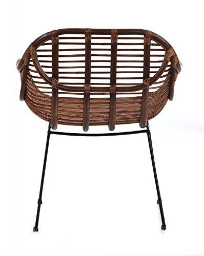 Animal di design sedia da giardino in rattan – Poltrona Sedia ...