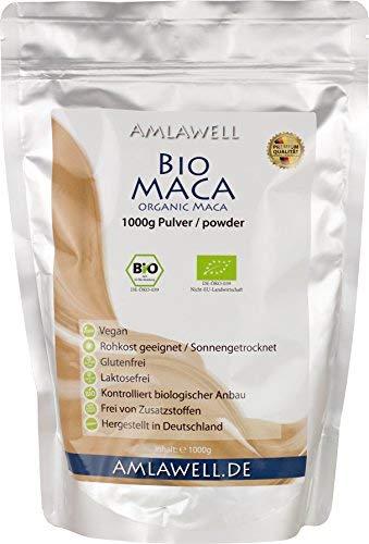 Amlawell Bio-Maca-Pulver / 1000g / BIO - DE-ÖKO-039 (1000g)