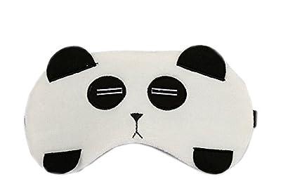 Lumanuby 1x Damen Schlafbrille mit Kühlkissen Karikatur Panda Flanell Augenbinde 2 in 1 für Wärmen und Kühlen für Reisen Nickerchen Oder Nacht, Schlafbrille Serie Size 20 * 10CM von Lumanuby bei Outdoor Shop