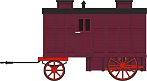 Oxford Diecast Juguete, Color Maroon/Red (76LW001)