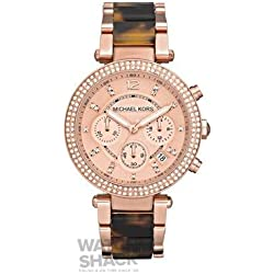 MK5538 Michael Kors Rose Gold & Tortoiseshell Watch
