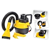 Kanku Toys Wet and Dry Powerful Suction and Blower Function Car and Home Vacuum Cleaner (Multicolour)