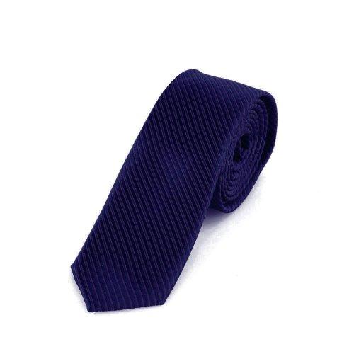 Dondon cravatta uomo blu scuro 5 cm di larghezza