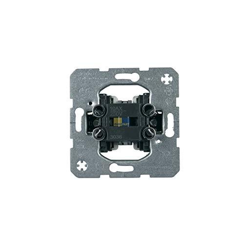 LUTH Premium Profi Parts Wippschaltereinsatz Berker 3036 Unterputz Lichtschalter Ausschalter Wechselschalter beleuchtbar