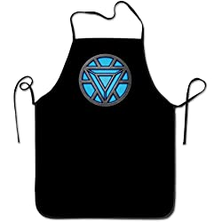 apnzll Iron Man Chest Logo Apron