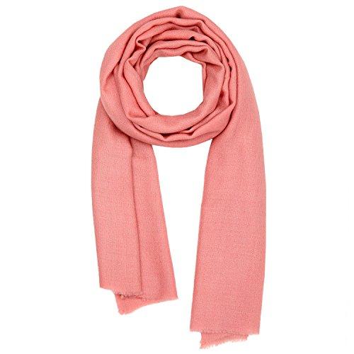3f5e8c4eb413cc Kashfab Kashmir Frauen Herren Winter Mode Solide Schal, gebraucht kaufen  Wird an jeden Ort in