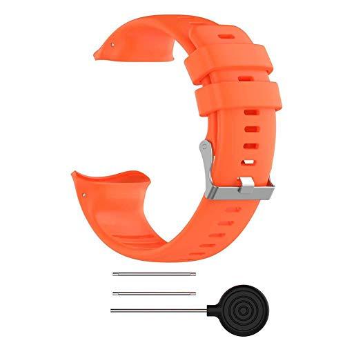 Libertey Silikonarmband für Polar Vantage V - Fitness Tracker Ersatzband - Sport-Armband mit Schließe