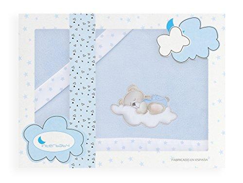 S/ábanas para Minicuna INVIERNO//CORALINA 3 piezas sabana bajera ajustable + funda almohada + encimera Medida est/ándar 50 x 80