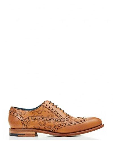 Barker, Chaussures À Lacets Pour Homme Tan Tan