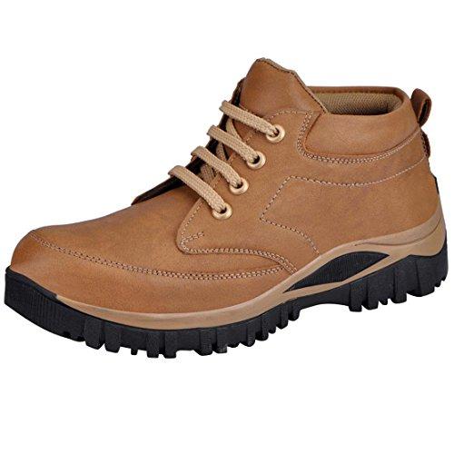 Fausto K6082-43 Beige Men's Boots