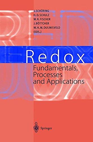 REDOX : FUNDAMENTALS, PROCESSES AND APPLICATIONS