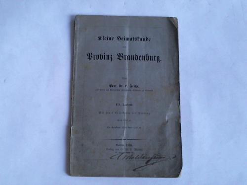 Kleine Heimatskunde der Provenz Brandenburg