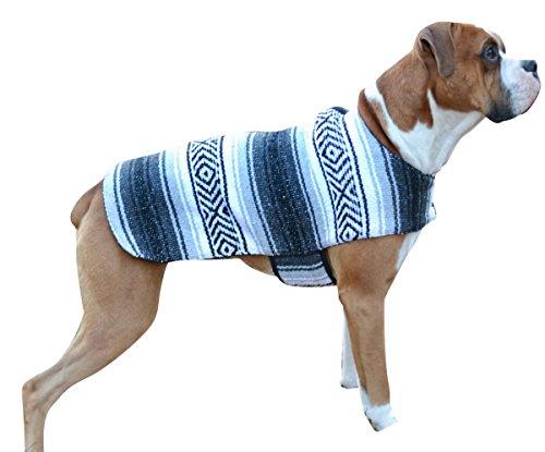 Del Mex handgefertigten Mexikanischen Sarape Hund Pet Poncho Kostüm, XX-Small, - Kostüm Aus Ihrem Kleiderschrank