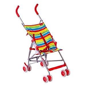 Red Kite Baby Push Me Lite Summer Stripe Pushchair   7
