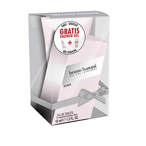Bruno Banani Woman Duftset Eau de Toilette 40ml + Showergel 150ml, 1er Pack (1 x 190 ml)