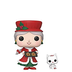 Funko 44425 POP Holiday-Mrs. Claus Collectible Figure, Multicolour