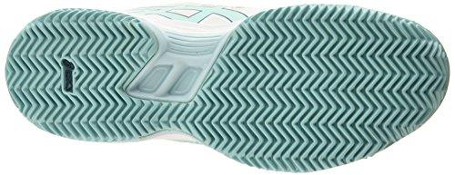Asics Gel-padel Pro 3 Sg Damen Tennisschuhe Weiß (white/pool Blue/blue Steel 0139)