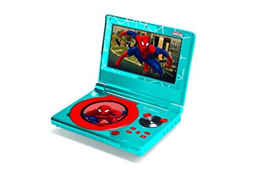 Lexibook DVDP5SP DVDP5SP-Tragbarer DVD Player Spider-Man