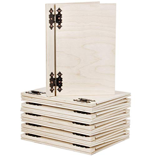 Esselte-Leitz - Carpetas para cartas de restaurantes (tamaño A5, madera, 10 unidades)