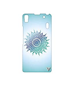 Vogueshell Ethnic Pattern Printed Symmetry PRO Series Hard Back Case for Lenovo A7000